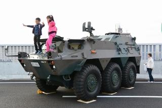 名古屋高速道路全線開通記念 わくわくサンキューウォーク 82式指揮通信車