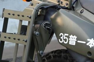 名古屋高速道路全線開通記念 わくわくサンキューウォーク 偵察用オートバイ カワサキ KLX250