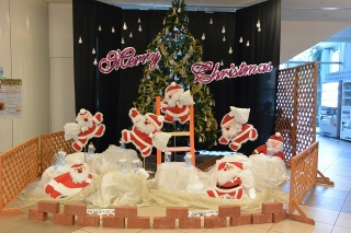 シビックセンター クリスマスディスプレイ