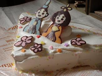 ひな ケーキ
