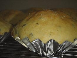 ヨモギメロンパン