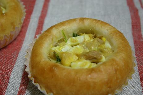 卵とツナとホウレンソウ