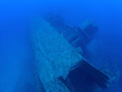 エモンズ沈船ファンダイビング