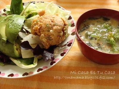 SaladMiso Soup