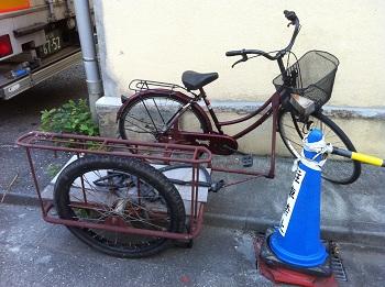 サイドカー付き自転車