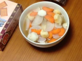 15分の煮物