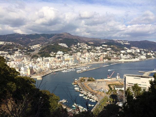 熱海城から風景