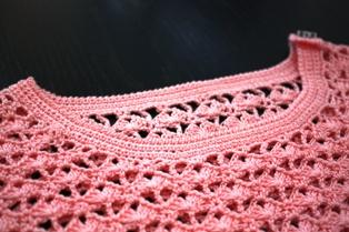 Pink サマーニット