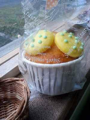 レモンマカロンケーキ