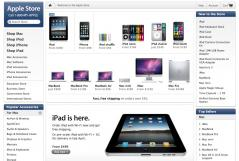 iPad in store now