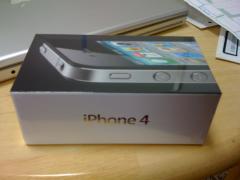 iPhone 4キタ