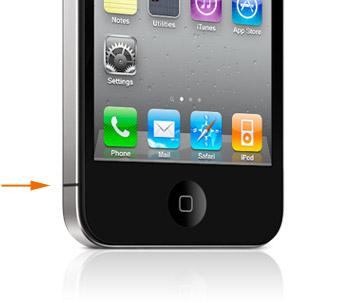 iPhone 4のアンテナ