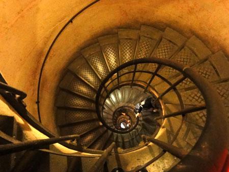 らせん階段は続くー