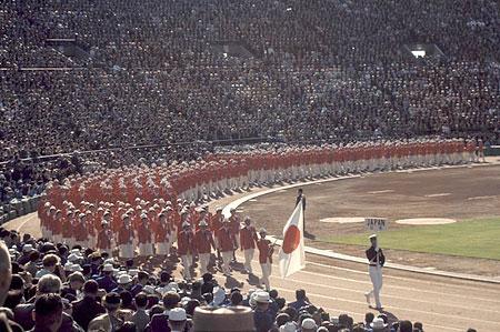 東京オリンピック開会式(2)