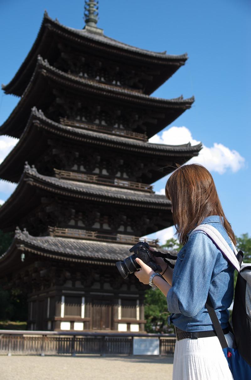 奈良 五重塔