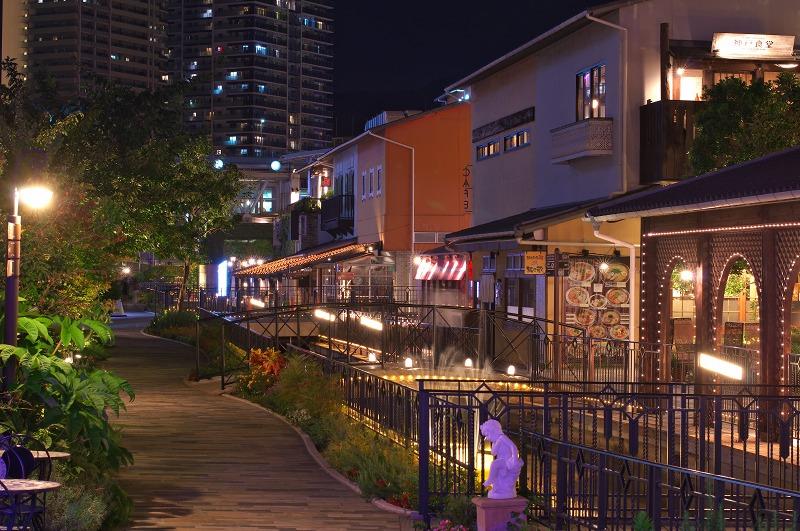 神戸モザイクガーデン ハーバーランド umie 夜景