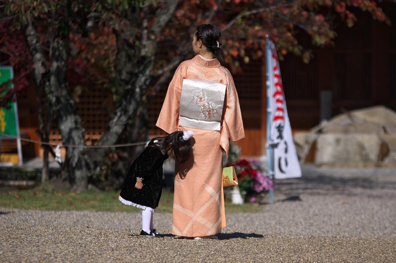 奈良 龍田神社 七五三