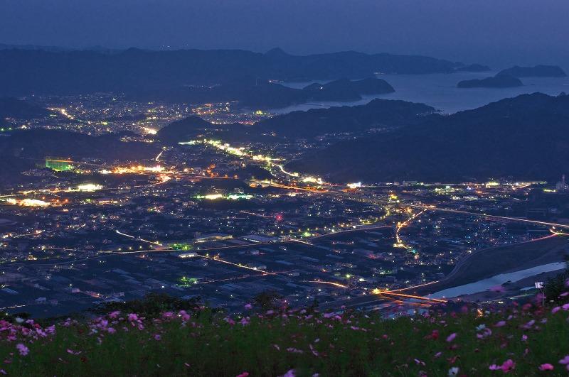 鷲ヶ峰コスモスパーク 夜景