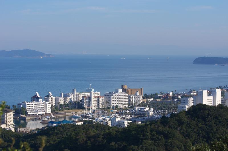 洲本城 眺望