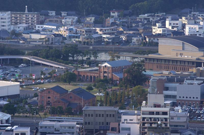 洲本城 眺め