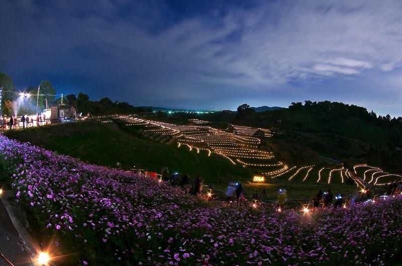金剛山の里 棚田夢灯り&収穫祭2014
