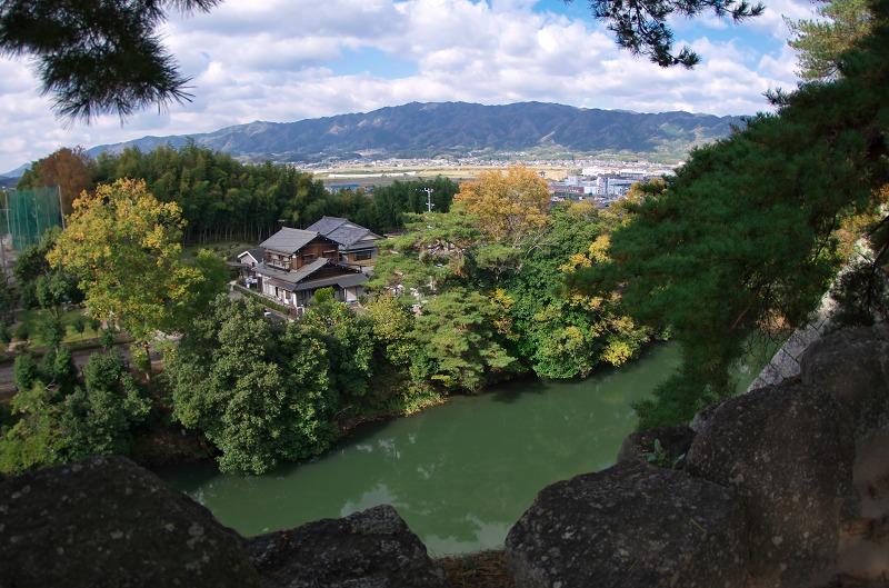 伊賀上野 紅葉