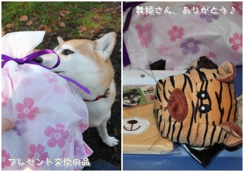 柴犬クラブアメーバオフ会5 舞姫さんからプレゼント交換