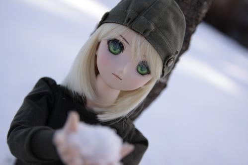雪で遊ぶ2
