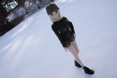 雪で遊ぶ5