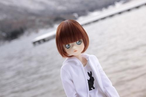 湖畔にて2