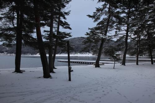 木崎湖キャンプ場全景