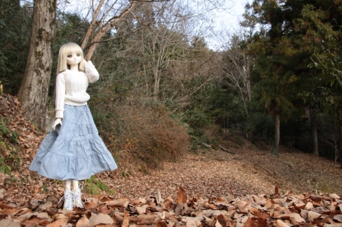 森の小道にて