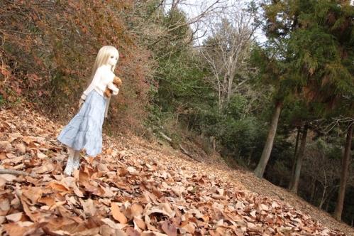 森の小道にて2