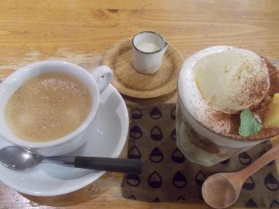 tea time  マロンパフェ