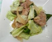 肉野菜炒め(完)