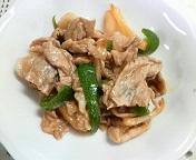 豚肉の生姜焼き(完)