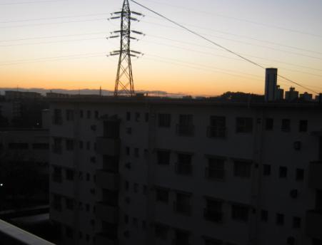 夕闇の写真