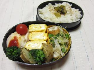 20120229 手抜き弁当
