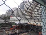 天王寺駅を望む