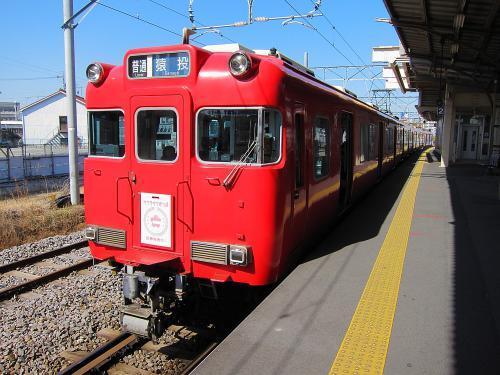 サクラサクきっぷ・ヘッドマーク in 知立駅