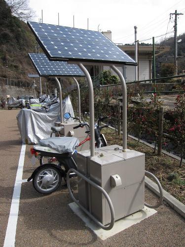 電動バイク・ソーラー充電システム3