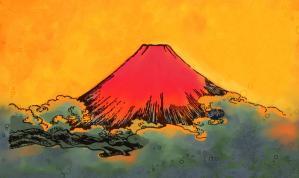 赤富士02