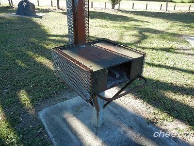 ラーツー 1 BBQ台