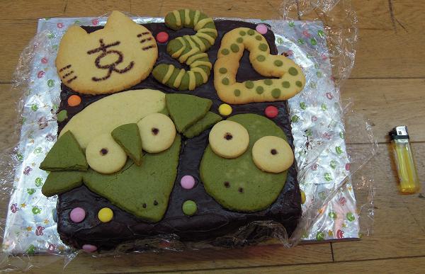 黒コン30周年記念ケーキ
