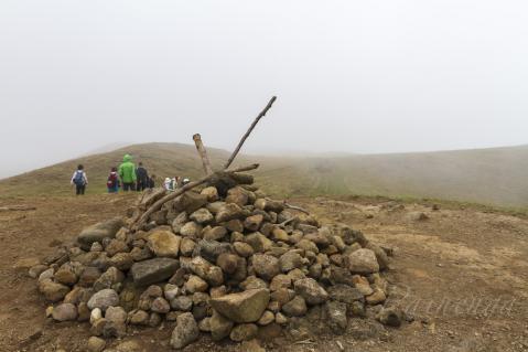 テレバカ山頂…