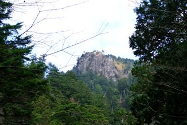 田立 不動岩