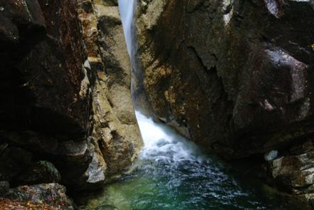 田立 螺旋滝 滝壺