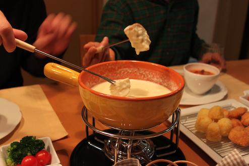 チーズフォンデュ2010.12.19
