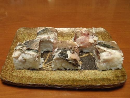 焼きサバ押寿司