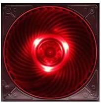 SilverStone SST-AP121-RL (RED LED 12cm)